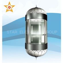 Good & Stable Panoramic Sightseeing Lift Elevator for Outdoor