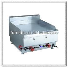 Plaque à snacker électrique ou à gaz en acier inoxydable K416