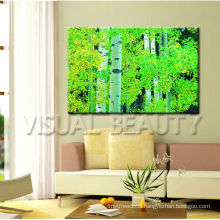 Modern Forest Tree Photo Canvas Print/Giclee Canvas Print For Decor/Stretched Canvas Prints Art