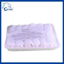 100% Cotton Yarn Aviation White Towel (QHCS9981)