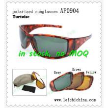 Cadres à enveloppes de tortue de haute qualité Pause lunettes de soleil polarisées
