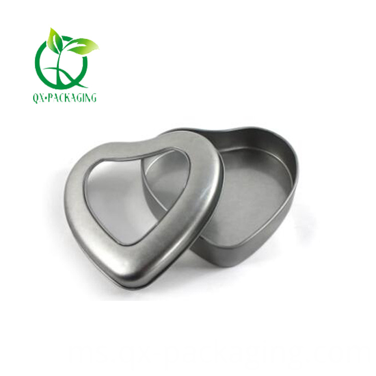 Heart Candle Tins