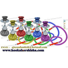 One Hose Colorful Small Pumpkin Glass Hookah