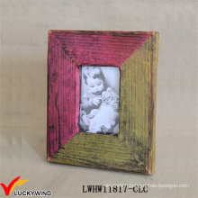 Colors Matching Design Handmade Wood Photo Frame