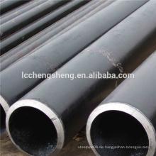 16Mn Kalt gezogen nahtlose schwarze Stahlrohr sms Rohr Zeitplan 40 Stahlrohr