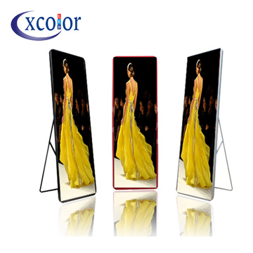 New HD Poster P2.5 Advertising LED Mirror Screen