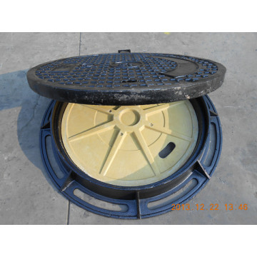 Ductile cast iron manhole cover