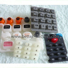 Designed Epoxy Silicon Rubber Membrance Keyboard