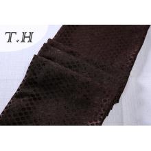 Tissu de chenille de teinture de tissu de Chenille Jacquard de tapisserie d'ameublement de petits points