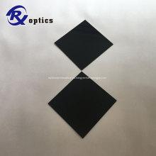 Filtro de vidrio de color de paso UV ZWB3 de forma cuadrada