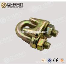 Clip de cuerda de alambre forjado galvanizado tipo A