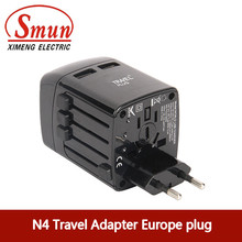 N4 Universal Adapter with USB Charger for Businessman