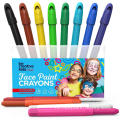 Op water gebaseerde Twist Up Face Paint Crayons