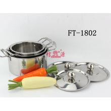 Stainless Steel Durable Steamer Pot (FT-1802-XY)