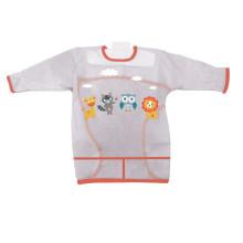 Delantal de cocina transparente de PVC para niños