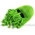Unique Octopus Mask Mão Feita Tricô Knitted Inverno Hat