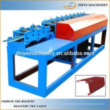 Máquina de rolamento de folha de metal da porta do obturador do rolo