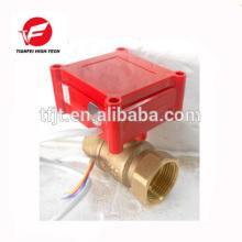 CWX-1.0B DN15 Messing weiblich-weiblich BSP DC12V CR02 mini elektrisches Ventil