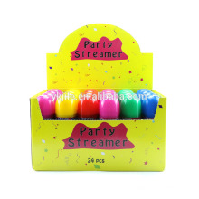 new year 2018 hot sale party artificial color silly string