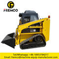 Skid Steer Loader Tracks Bucket Front End Loader