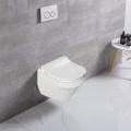Bathroom Sanitary Ware Gold Wall Hung Toilet