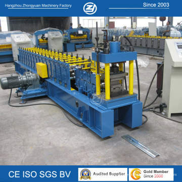 Fabricantes de máquinas U guia rolo da porta do obturador formando máquinas