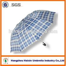 Gran tamaño 2 doble paraguas para mercado de Camboya