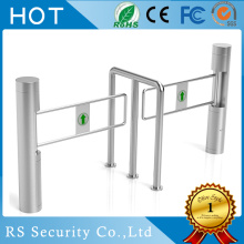 Hot sale for Stainless Steel Swing Barrier,Automatic Swing Barrier,Swing Barrier Turnstile Wholesale From China Security Turnstile Supermarket Swing Gate Barrier export to United States Importers