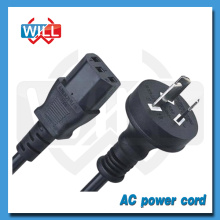 Factory Wholesale female end type AU power cord with IEC C13 C14