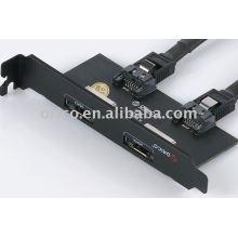 ORICO PST-2E PCI-E baffle plate with e-SATA interface