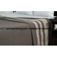 Woven Woollen Pure Merino Wool Blanket