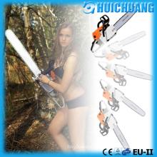 Chopping Down Trees, Chain Saw Cutting Wood Tool