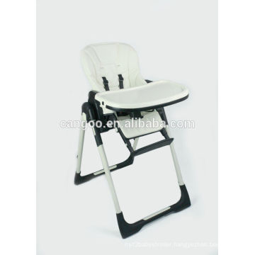 China Manufacture Children Foldable High Chair Steel Frame In High Quality