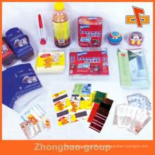 Personalisierte Logo / Printing Schrumpfschlauch Etiketten aus PET PVC