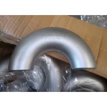Accesorios de tubería de codo de acero inoxidable de diámetro grande para gas