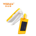 Conception de la mode protection des yeux pliage lampe de table solaire avec fort puissant led