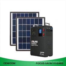 Générateur solaire portatif du système solaire 1Kw pour l'électricité à la maison