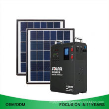 Portable 1Kw Solar System Solar Generator For Home Electricity