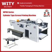 Máquina de impresión automática de pantalla de tipo cilindro