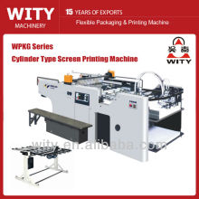 Cylinder Type Automatic Screen Printing Machine
