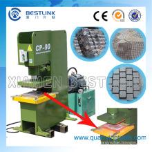 Hidráulico que presiona el remanente de piedra que recicla la máquina que hace azulejos de la paleta