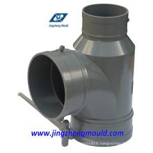Moule de montage de tuyau en T spécial en PVC / moule