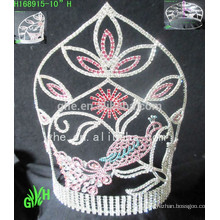 Оптовые новые дизайнеры Bigs Beauty Pageant Tiaras And Crown