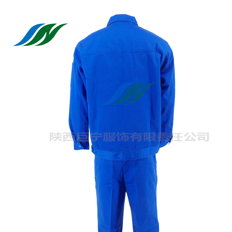 Welding workshop blue overalls 2