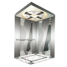 1000KGS MRL preço elevador elevador passageiro sem engrenagem