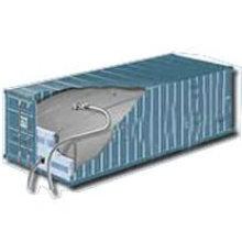 Transporte de contentores flexitank para líquido em massa
