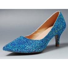 Nouveau style de chaussures de mariage pour femmes (HCY02-1507)