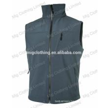 Soft shell vests for men