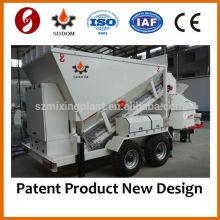 Mezcladora de hormigón móvil dosificadora MB1800, 20-25m3 / h