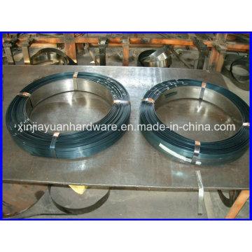 0.36mm-0.9mm Bracelet en acier noir et ciré / cerclage en acier